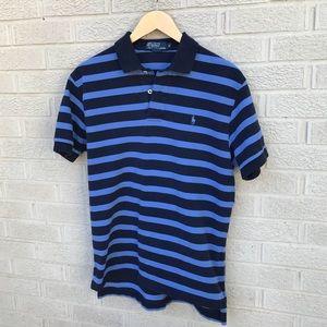 Ralph Lauren Men's Short Sleeve Striped Polo Shirt